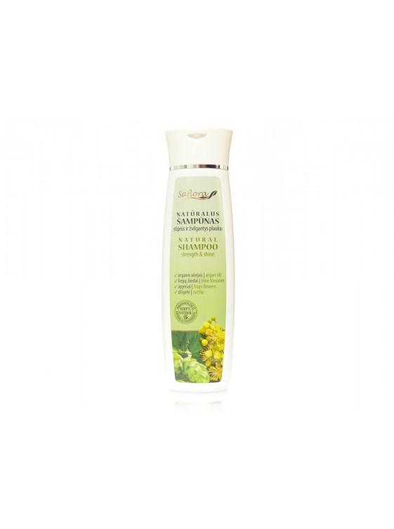 """Šampūnas """"Stiprūs ir žvilgantys plaukai"""", 200 ml"""