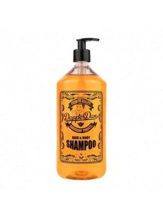 Dapper Dan Hair and Body Shampoo Šampūnas ir kūno prausiklis vyrams, 300 ml