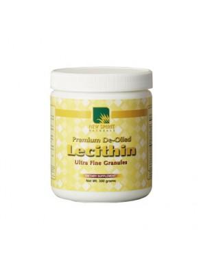 """Lecitinas granulėmis be riebalų""""PREMIUM DE-OILED LECITHIN"""" (300g)"""