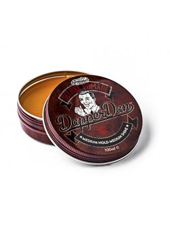 Dapper Dan Deluxe Pomade Vidutinės fiksacijos ir spindesio plaukų pomada, 100 ml