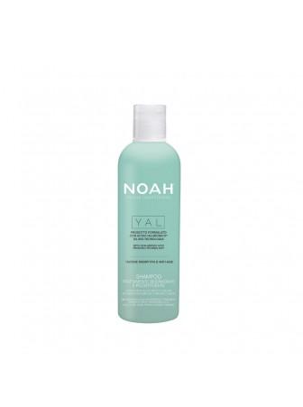 NOAH Yal, Atkuriamasis drėkinantis šampūnas su hialurono rūgštimi ir šalaviju iš organinių ūkių, 250 ml