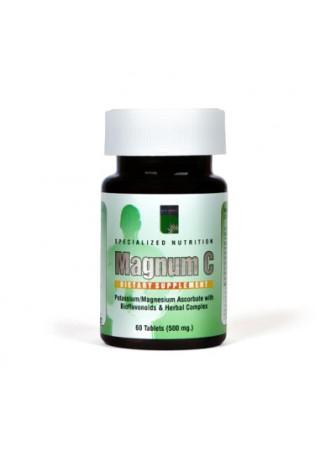 """Vitaminas C, kompleksas""""MAGNUM C"""" (60 tablečių)"""
