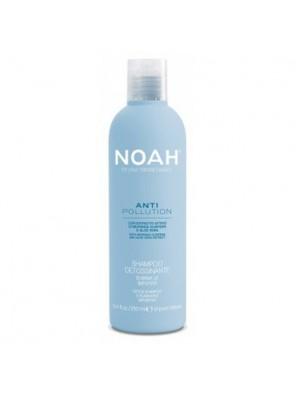 Noah Anti Pollution Detox Shampoo Valomasis-drėkinamasis šampūnas su alijošiaus ir aliejinės moringos ekstraktais, 250ml